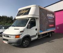 IVECO DAILY CLASSE L CHASSIS CAB 35C13 CAISSE MEUBLE 20 M3